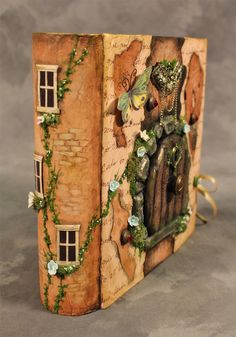 Secret Book Fairy Garden https://www.etsy.com/listing/256655694/secret-garden-fairy-willow-hidden?ref=shop_home_active_1