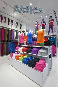 Twenty four concept stores by Dalziel and Pow