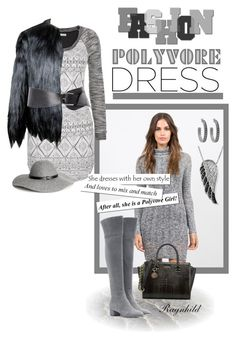 """""""Long-Sleeve Dresses Fall to Winter 2015"""" by ragnh-mjos ❤ liked on Polyvore featuring maurices, 32 Paradis Sprung Frères, Gianvito Rossi, H&M, Pieces, House of Harlow 1960, Jewel Exclusive, contest, outfit and longsleevedress"""