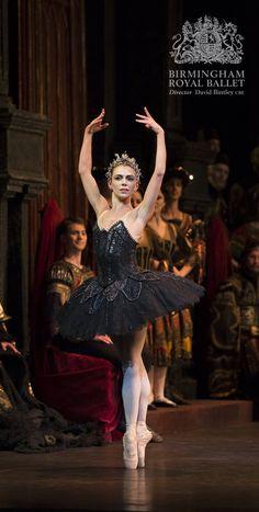 Birmingham Royal Ballet - Swan Lake; Natasha Oughtred; photo: Bill Cooper