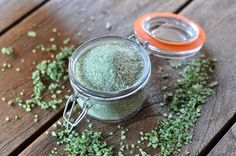 Bärlauch-Salz – Kräutersalz selber machen