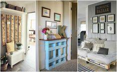 13 propozycji na meble z palet w domu - Jakie to genialne!