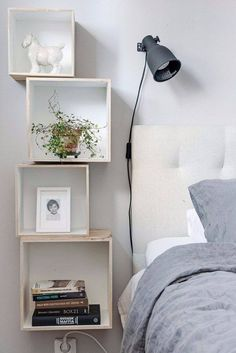 A nightstand that's anything but ordinary.