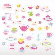 Tea Set Foam Bath Toys   JoJo Maman Bebe