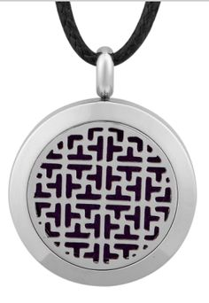 Vintage Aromatherapy Essential Oil/ Perfume Diffuser Locket Necklace, 24'' Chain