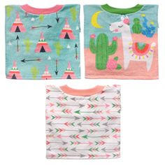 Neat Solutions Baby Bibs Set Of 3 Cars Stripes Zoo Animals Water Resistant