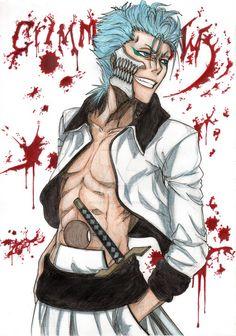 Finished Grimmjow by AurelGweillys on DeviantArt Bleach Fanart, Bleach Manga, Bleach Characters, Manga Characters, Furry Drawing, Manga Drawing, Anime Shadow, Anime Echii, Oc Manga