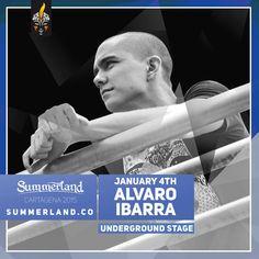 Alvaro Ibarra  Dj Confirmado Summerland 2015