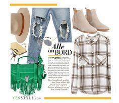 """""""YESSTYLE.com"""" by monmondefou ❤ liked on Polyvore featuring Billabong, Proenza Schouler, DANI LOVE, Goldgenie, CB2, KOON and yesstyle"""