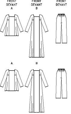 Caftans pattern