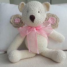 Mini Urso Crochê