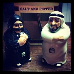 Salt & Pepper : The Mullah and one of his wives