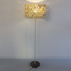 Floor lamp made with sea urchins   by Respiga ecodesign.