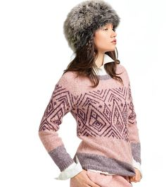 Ravelry: 808 - Jacquard Sweater pattern by Bergère de France Fair Isle Knitting, Free Knitting, Free Crochet, Knitting Patterns, Knit Crochet, Sweater Patterns, Knitting Projects, Pull Jacquard, Hand Knitted Sweaters