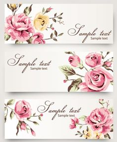 15 Cool Images of Roses Vintage Vector Banner. Free Vintage Vector Flower Vintage Rose Drawings with Banners Banner Vector Vintage Roses Banner Vector Vintage Roses White Roses Banner Graphic Whatsapp Logo, Graphic Design Art, Web Design, Molduras Vintage, Free Vector Backgrounds, Vector Flowers, Romantic Roses, Beautiful Roses, Banner Vector