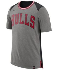 Nike Men's Chicago Bulls Basketball Fan T-Shirt - Gray XXL