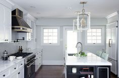 Kitchen Lessons: Stealth Glamour #HomeDecorators #Homes #Kitchens