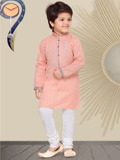 Boys Kurta Suit Shopping - Buy 1 to 16 year Boys Kurta Pajama Sets online African Dresses For Kids, Dresses Kids Girl, Girls Dresses Sewing, African Children, Baby Boy Dress, Baby Boy Outfits, Kids Outfits, Kids Kurta, Kurta Men