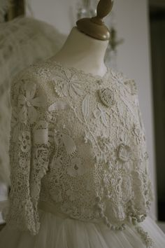 Antique Lace Bodice From The Sheelin Lace Shop