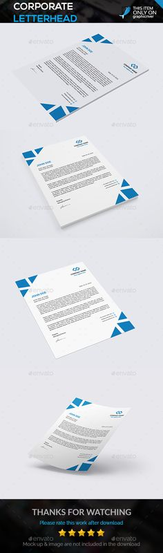 Psd Letterhead Template - 51+ Free Psd Format Download! | Free