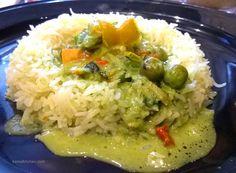 Thai Green Curry   #pune #punerestaurants #bistro #cafe #european #continental #friscopune