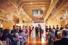 Ceremony Inside The Henry Ford Museum In Fully Furnished Exhibit