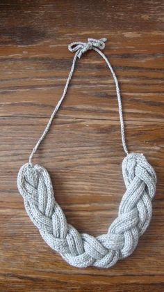 with chains instead of yarn?