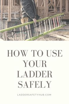 Visit our ladder safety blog to get tips for using your ladder safely. Best Practice, Ladder, Safety, Tips, Blog, Security Guard, Stairway, Blogging, Ladders