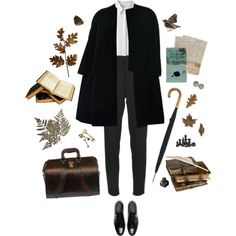 "I,"" said Silas, ""do not get into trouble. by clarulven on Polyvore featuring rag & bone, Christian Dior, Yves Saint Laurent, Beara Beara and Pieces"