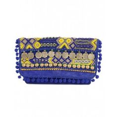 Blue Havana Gypsy Clutch