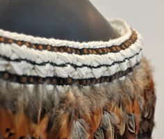 Robin Hill Kura Gallery Maori Weaving New Zealand Art Design Pheasant Feather Korowai