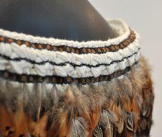 Robin Hill Kura Gallery Maori Weaving New Zealand Art Design Pheasant Feather Korowai