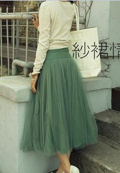 Tulle skirt (help! need step-by-step instructions) sn   I would wear this everyday!