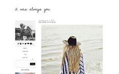 It Was Always You Premade Blogger Template by RyleeBlakeDesigns