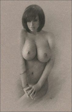 Charcoal, Naked, Sketches, Fine Art, Woman, The Originals, Female, Drawings, Women