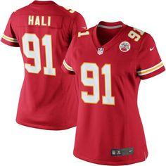Tamba Hali Kansas City Chiefs Nike Women's Limited Jersey - Red - $149.99