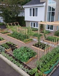 Front Yard Garden Design 21 Stunning Play Garden Design Ideas For Your Kids Backyard Vegetable Gardens, Outdoor Gardens, Veg Garden, Garden Care, Easy Garden, Home Vegetable Garden Design, Diy Garden Bed, Vegetables Garden, Potager Garden