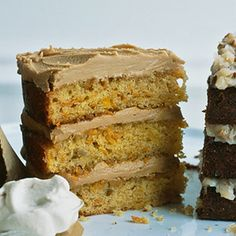 Caramel-Frosted Hummingbird Cake The rich caramel and butter frosting hardens while it cools sealing in the moist goodness of this layer cake recipe.