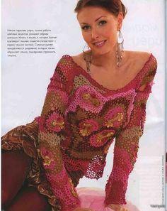 fashion craft for women: lace crochet magazine,   make handmade, crochet, craft