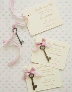 #invitations glow sticks instead of keys