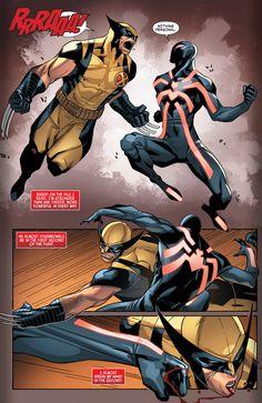 MARVEL COMICS - WOLVERINE vs SCARLET SPIDER II/KAINE