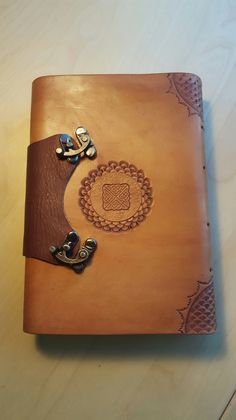 Back cover for one of my leather journals. Check out my Etsy shop!