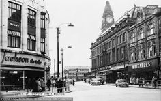 Bolton, Oxford Street c.1960, from Francis Frith