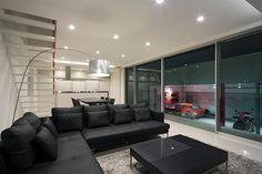 CASE 301   ガレージハウス(大阪府堺市南区)  高級住宅・豪邸   注文住宅なら建築設計事務所 フリーダムアーキテクツデザイン