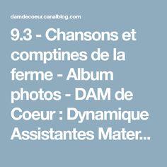 9.3 - Chansons et comptines de la ferme - Album photos - DAM de Coeur : Dynamique Assistantes Maternelles du canton de Guer