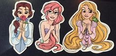 Disney Stuff, Disney Love, Aesthetic Stickers, Disney Dreams, Bath Products, Disney Tattoos, Printable Stickers, Miraculous Ladybug, Princesses