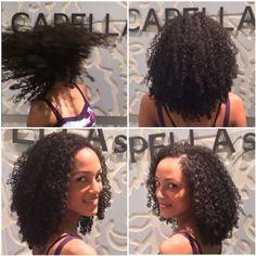 she flew from Charlotte for a cut hair by Shai Amiel www.CAPELLAsalon.com