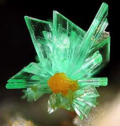 Annabergite from Greece