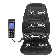 Portable Electric Vibrator Back Massager Chair Car Home Office Lumbar Waist Chair Pads, Chair Cushions, Car Chair, Back Massager, Massage Machine, Aprons For Men, Cushion Pads, Pain Relief