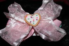 Sugar Cookie bow-$8